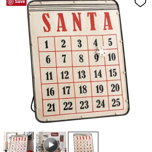 Awesome Final Price Pottery Barn Advent Calendar Nwt Download Free Architecture Designs Scobabritishbridgeorg